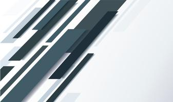 abstract black line and white background