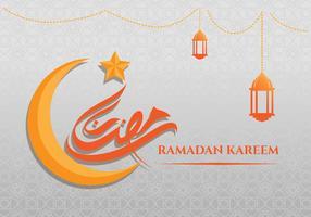 Ramadan Kareem fond de carte de voeux