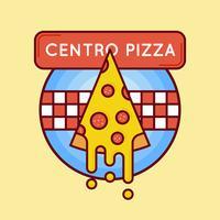 Emblema de promoção de fastfood