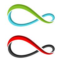 Colorful Infinity Loop Logo Template Illustration Design. Vector EPS 10.