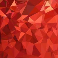 Fond de mosaïque polygonale rouge, modèles de conception créative