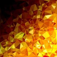 Gul polygonalmosaik bakgrund, kreativa designmallar