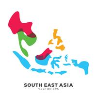 Creative South East Asia Map Vector, vector eps 10