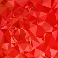 Fondo de mosaico poligonal rojo, plantillas de diseño creativo vector