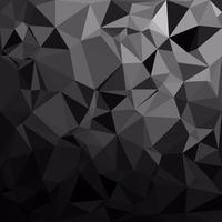 Black Polygonal Mosaic Background, Creative Design Templates vector