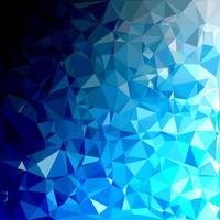 Blue Polygonal Mosaic Background, Creative Design Templates