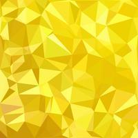 Yellow Polygonal Mosaic Background, Creative Design Templates