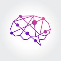 Abstract Brain Symbol design