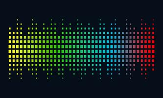 Music Logo concept sound wave, Audio Technology, Abstract Shape vector
