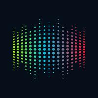 Music Logo concept sound wave, Audio Technology, Abstract Shape