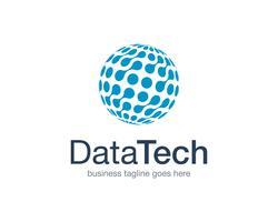 Datentechnik Logo Icon Vector