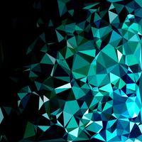 Green Polygonal Mosaic Background, Creative Design Templates