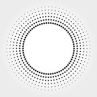 halftone patroon vector achtergrond