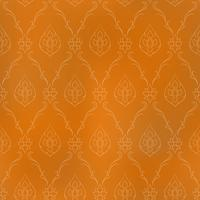 Seamless lined pattern thai art background decoration.