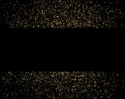 waterfalls golden glitter sparkle-bubbles champagne particles stars black background happy new year holiday concept.