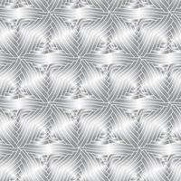 Vector monochrome decorative elements seamless pattern.