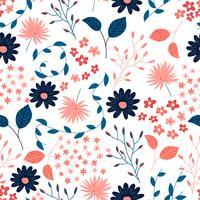 Patrón de flores
