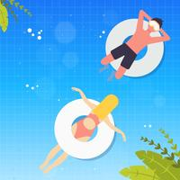 Vector Summertime Illustration