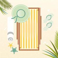Vector zomer elementen illustratie