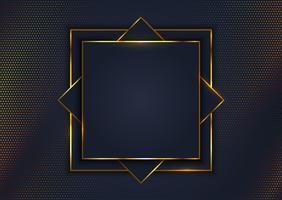 Elegant background with gold frame