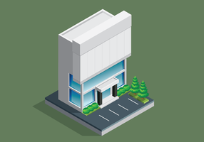 Office Building Isometric