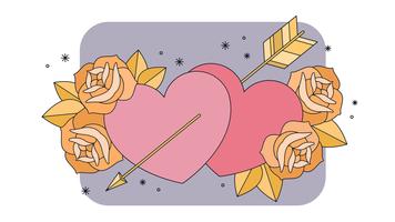 Em vetor de amor