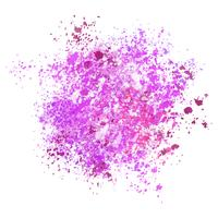 Watercolour splatter background  vector