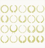 colección de corona de laurel