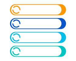 Speech bubble icon Vetor de modelo de logotipo