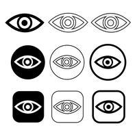 Establecer signo de icono de ojo