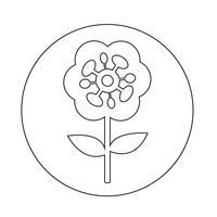 Icono de flor
