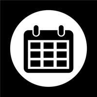 Icône de calendrier