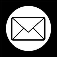 ícone de símbolo de e-mail