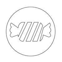 ícone de doces