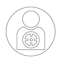 Target people-pictogram