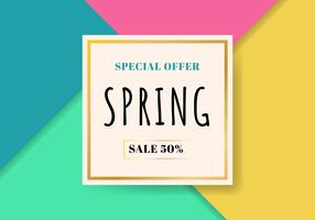 Template spring sale beautiful colorful background. Special offer. You can use for Wallpaper. flyers, invitation, posters, brochure, gift voucher discount, banner web.
