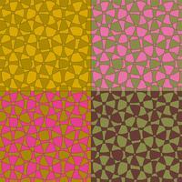 twee toon mod abstracte vectorpatronen