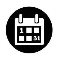 Kalender pictogram