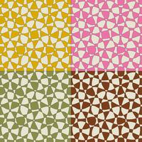 mod abstract vector patterns with tan