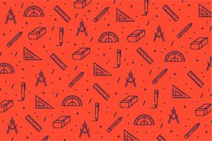 Architecture tools icon pattern background