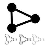 Share icon graphic deign