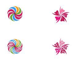 disegno dell'icona di vettore del fiore