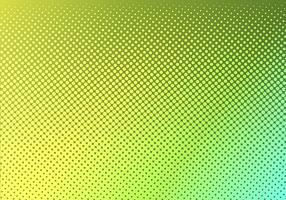 Bright green with yellow dotted halftone. faded dotted gradient. Abstract vibrant color texture. Modern pop art design template. vector