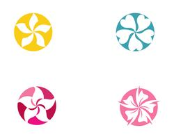 Blumen-Vektor-Icon-Design