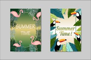 Beautiful Summer Card lettering card