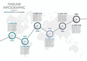 Business data visualization. timeline infographic icons designed for abstract background template