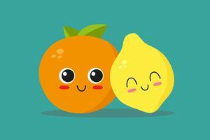 Sinaasappel en citroen