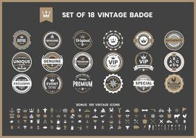 Vintage Retro Vector for banner