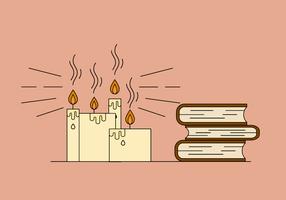 Freie Kerze Vector