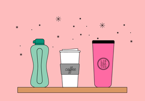 Free Thermos Vector